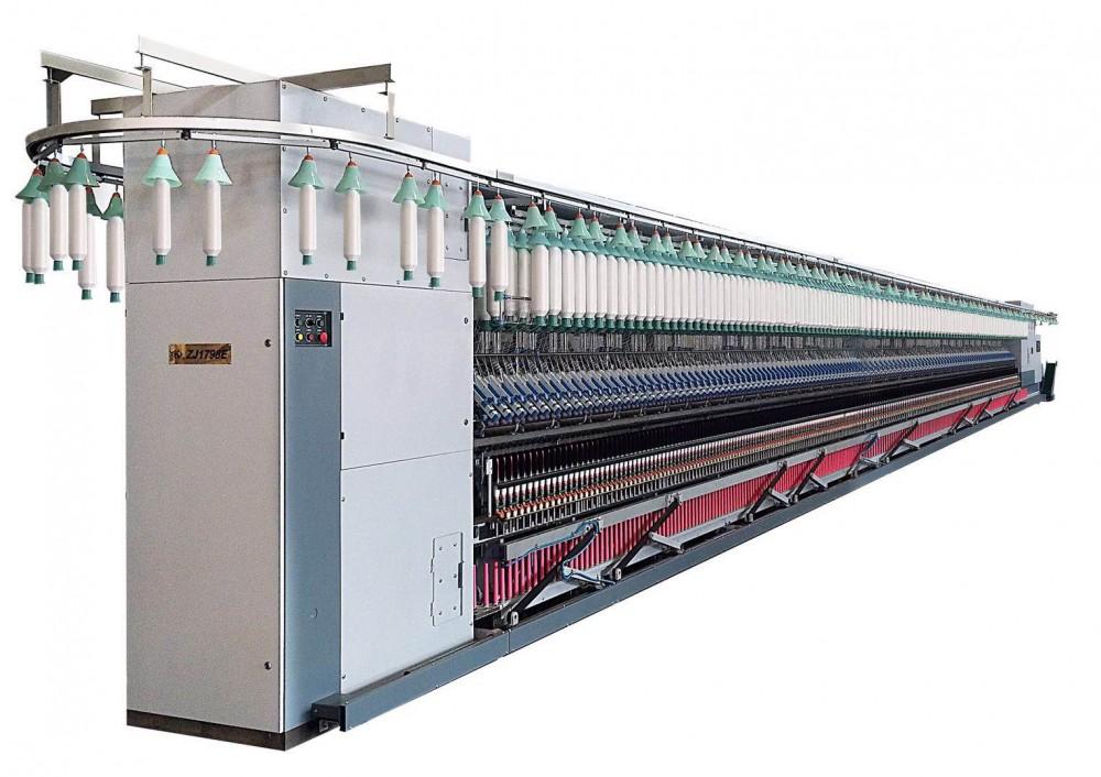 ZJ1728E/ZJ1798E数字化集体落纱系列环锭细纱机
