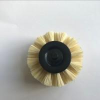 细纱机代替绒辊用墨西哥白棕小毛刷
