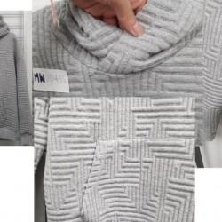 采购一批空气层面料 做男女装 素色印花提花色织  希望能提供布版和款式让客人挑选 具体风格请看图片